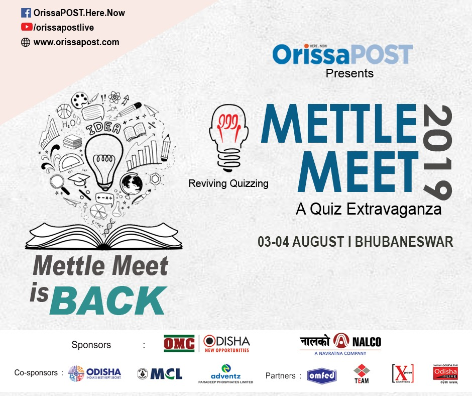 Mettle Meet 2019. Quizzers get ready!