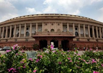 The Lower House witnessed vociferous protests from opposition parties over the issue.