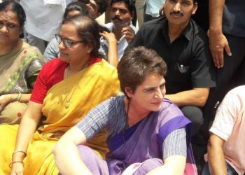 The Congress leader's alleged detention came after she met some of the injured from the Gond community at the Banaras Hindu University Trauma Centre in Varanasi.