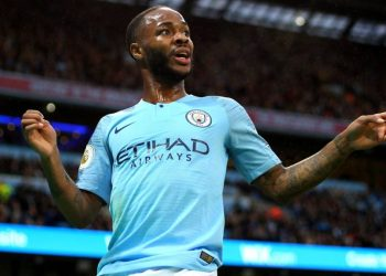 Raheem Sterling scored two goals for Manchester City