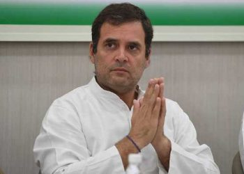 Rahul gandhi recently resigned as the Congress party chief.