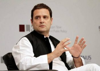 Gandhi asked party workers to remain prepared for a long battle to resurrect the Congress and said that he would stand by them all through.