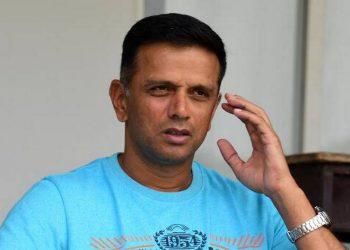 Rahul Dravid. File pic
