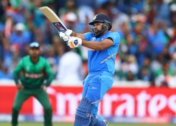 Rohit's 104 off 92 balls in the 28-run win over Bangladesh guided India to the World Cup semi-finals here Tuesday.