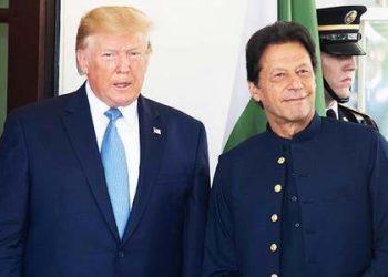 US President Donald Trump and Pakistan Prime Minister Imran Khan