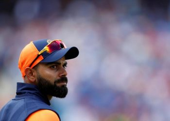Sunday, Kohli scored his fifth fifty on the trot in the ongoing tournament and became the second batsman after Australia's Steve Smith to score five consecutive half centuries in a World Cup.
