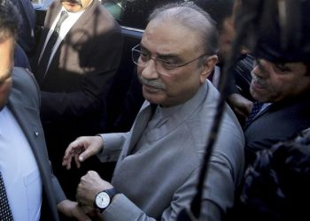 Asif Ali Zardari, the 11th President of Pakistan from 2008 to 2013, arrested for Park Lane case
