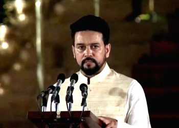 The resolutions were moved by Minister of State for Finance Anurag Thakur