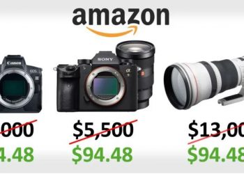 Camera lens worth $13,000 sold for $94 during Amazon Prime Day