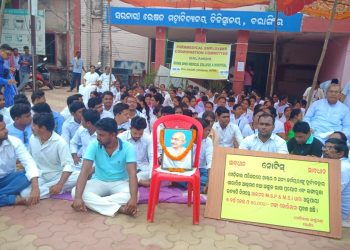 Healthcare hit in Bolangir as paramedics join stir