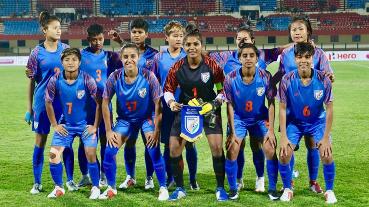 Indian women's football team up to 57th in latest FIFA