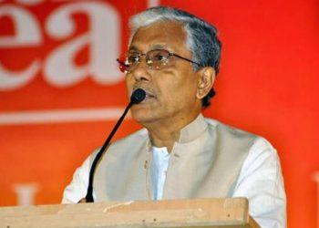 Former Tripura CM Manik Sarkar