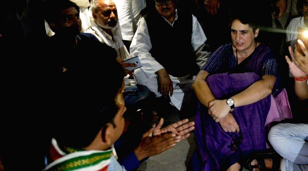 Priyanka Gandhi remains under detention in UP