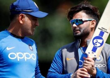 In an interview, Pant spoke about the challenge of replacing Dhoni, both as a batsman and a wicketkeeper.