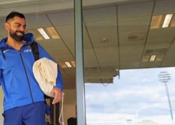Kohli was seen engaging in a light banter with Chahal who was interacting with opener K.L. Rahul in the video shared by the BCCI on its official Twitter handle.