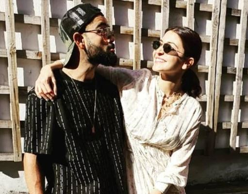 Anushka, Virat shares adorable moments; See pictures