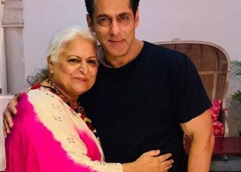 Salman celebrates Raksha Bandhan with Bina Kak