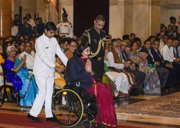 Deepa Malik got the Khel Ratna Award