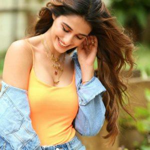 Bikini clad Disha Patani turns heads in orange neon camisole top
