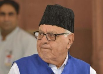 The delegation was led by former Jammu and Kashmir chief minister Farooq Abdullah.