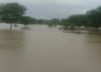 Inundated areas in Boudh district