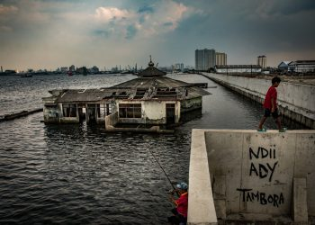 One of the fastest-sinking cities on earth, environmental experts warn that one third of it could be submerged by 2050 if current rates continue.