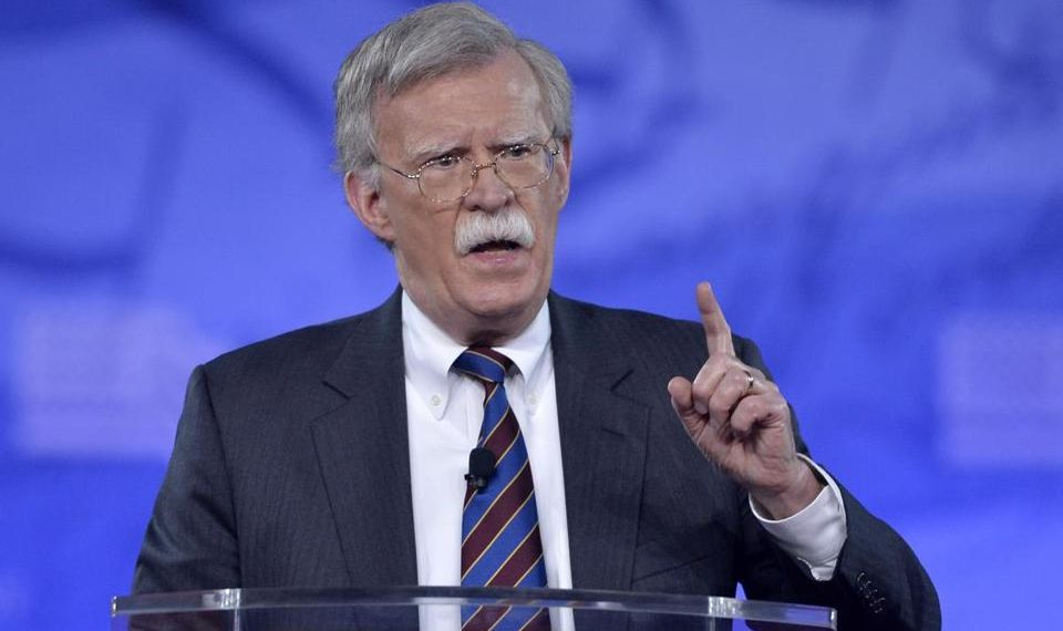US National Security Advisor John Bolton