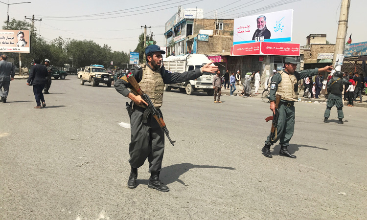 Violence is surging across Afghanistan and in Kabul as the US and the Taliban negotiate a peace deal ahead of elections planned for September 28.