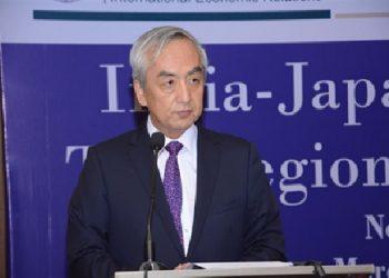 Kenji Hiramatsu Japan ambassador. Pic - Embassy website.