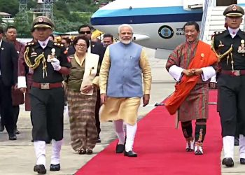 PM Narendra Modi in Thimpu, Saturday