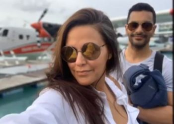 Angad, Neha pick Maldives for birthday vacation