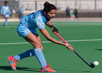 Navjot Kaur scored the first goal for India