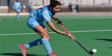 Navjot Kaur scored the first goal for India