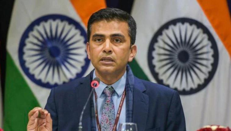 Ministry of External Affairs spokesperson Raveesh Kumar.