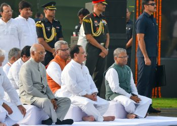 Prime Minister Narendra Modi and President Ram Nath Kovind were among others who paid tributes to Atal Bihari Vajpayee