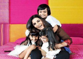 Farah Khan with children