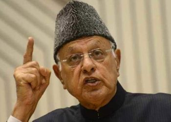 National Conference chairman Farooq Abdullah