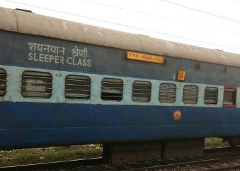 After noticing the boy sitting helplessly near the washbasin of a coach of Howrah-Chennai Mail Sunday, a Railway Protection Force (RPF) team took him into confidence, an East Coast Railway (ECoR) official said.
