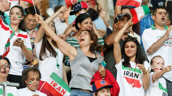 Iran has barred Iranian women spectators at matches since the 1979 Islamic revolution.