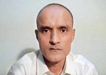 Jadhav, 49, was sentenced to death by a Pakistani military court on charges of 'espionage and terrorism' in April 2017.