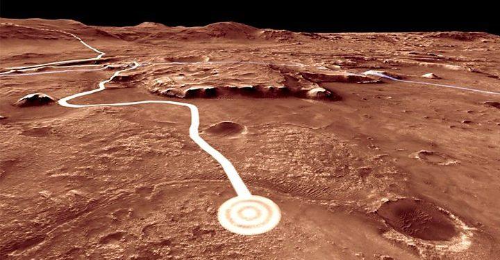 Representational Image of Mars