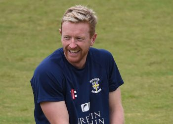 England assistant coach Paul Collingwood