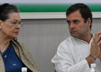 UPA chairperson Sonia Gandhi told reporters she and Rahul Gandhi are not a part of the five regionwise groups formed in the CWC to elect the new party chief.