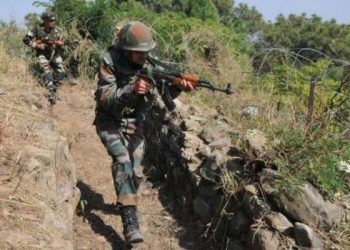 The killing of Naik Rajib Thapa, 34, raised the death toll in the cross-border firing in the past week to four -- three soldiers and one civilian.