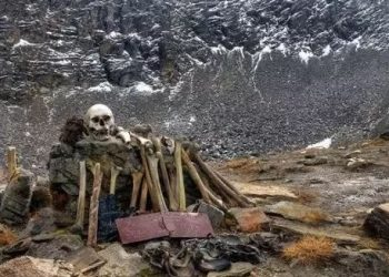 Situated at over 5000 metres above sea-level in the Indian Himalayas, Roopkund Lake has long puzzled researchers due to the presence of skeletal remains from several hundred ancient humans.