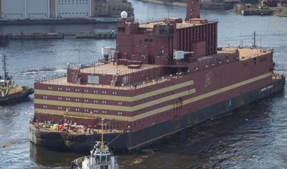 Loaded with nuclear fuel, the Akademik Lomonosov will leave the Arctic port of Murmansk to begin its 5,000 kilometre voyage to northeastern Siberia.