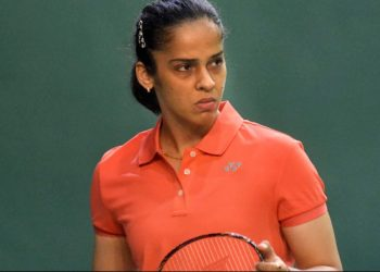 The eighth seeded Indian lost 21-15, 25-27, 12-21 against Blichfeldt, seeded 12th, in a marathon women's singles match that lasted an hour and 12 minutes Thursday.