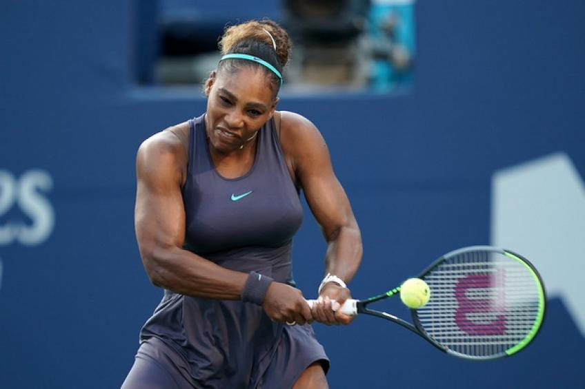 Williams, seeded eighth in a tournament she has won three times, will take on home hope Bianca Andreescu in the championship match Sunday.