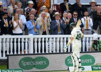 The incident occurred Saturday when Smith was walking from the field after he got out scoring 92 in the first innings.