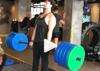 Tiger, who is known for his love for fitness, took to his Instagram to upload a video, where he is seen doing deadlifts with 200 kg in the gym.